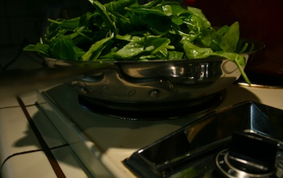 spinach and collards